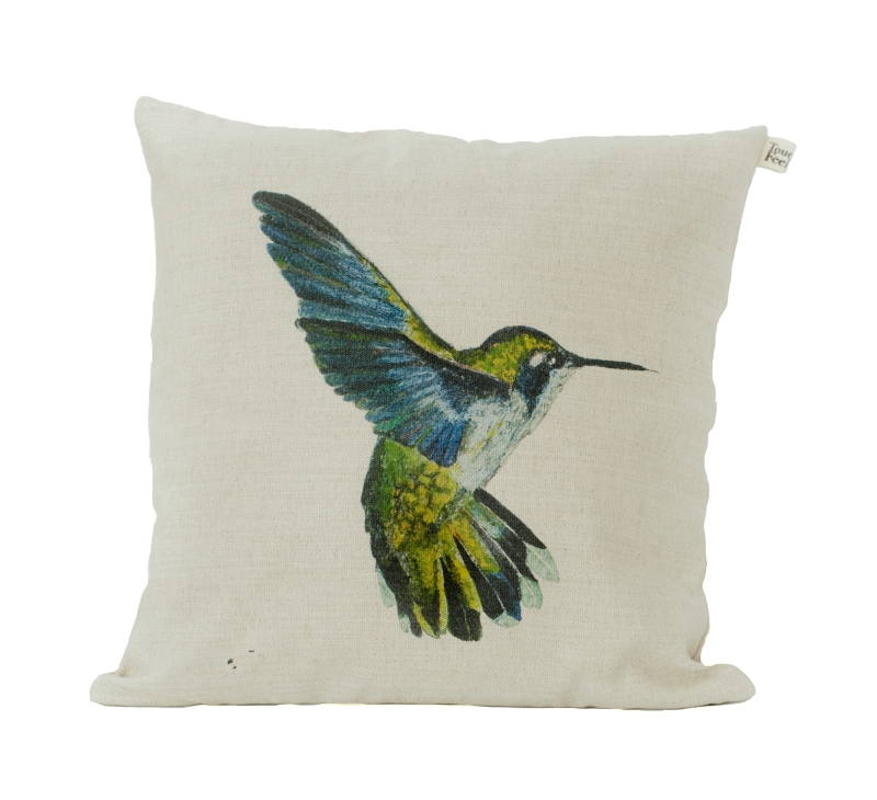 White_hummingbird_cushion